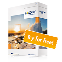 Try HALCON for free