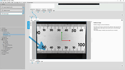 Preview image: Calibrated Measurement with MVTec MERLIC