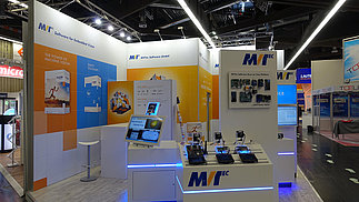 MVTec booth at embedded world 2018