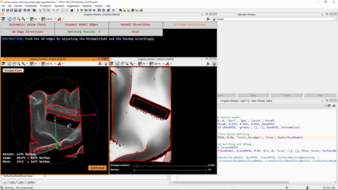 This video shows how edge-supported surface-based 3D-matching with HALCON works.