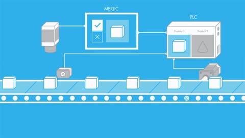 Watch this video to learn more about process integration with MVTec MERLIC.