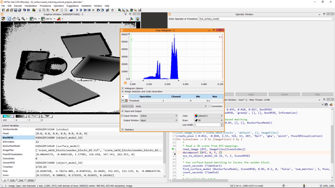 This video shows how to optimize your data for Surface-based 3D-Matching in MVTec HALCON.